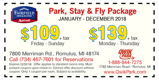 Plan Ahead, Pre-Book and Save on Your Detroit Airport Parking & Hotel Stay. Park your car short term or long term for discounted rates. Valet parking and self-parking options are also available. Or choose from one of our many Park Stay Fly packages with up to 2 weeks of free airport parking/5().